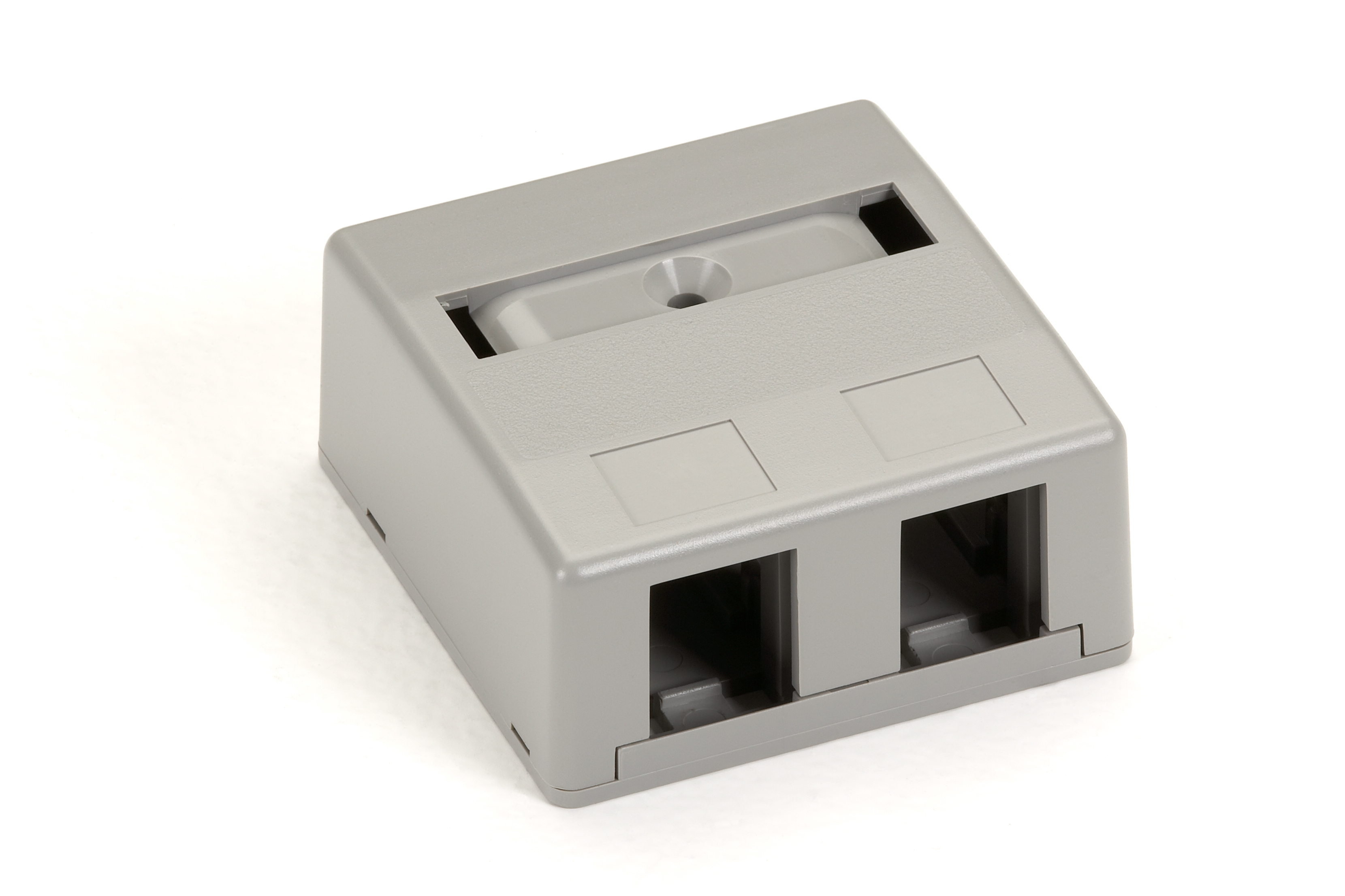 Surface-Mount Housing, 2-Port, Gray
