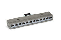 10Base-T Harmonica Bar 1 Telco Male RJ45