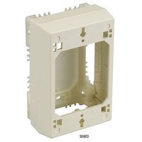 2300 Series Hinged 2-Piece Raceway Device Box - Deep Double-Gang, 4 3/4
