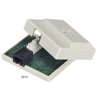 Cat5 Surface-Mount Block T568B 1 Jack