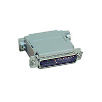Null-Modem Adapter - DB25 Male/Female, Pinning B