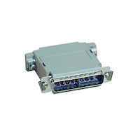 Null Modem Adapter - DB25, Male/Male, Pinning A