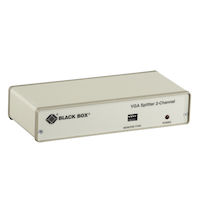 VGA Video Splitter - 2-Channel, 115-VAC