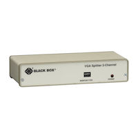 Video Splitter - VGA, 2-Channel, 230-VAC