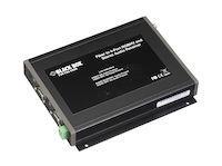 VGA/Stereo-Audio Fiber Extender Receiver, 4-Port, (1) ST Optical Input, (4) RGB Input, (1) 3.5-mm Audio Output