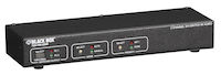 DVI Switch with Audio & Serial Control - 2-Channel
