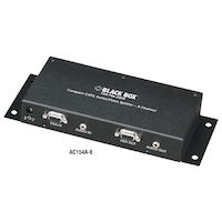 Compact CAT5 Audio/Video Splitter - 8-Channel