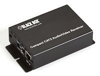Compact CAT5 Audio/Video Receiver with 220V Power Supply