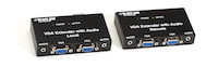 VGA Extender Kit with Audio - 2-Port Local, 2-Port Remote