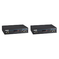 KVM Over IP Matrix, Dual Head DVI-D, USB 2.0, KVM Extender Kit