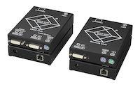 KVM Extender - DVI-D, PS/2, CATx