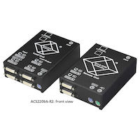 Extensor KVM - doble DVI-D, PS/2, CATx
