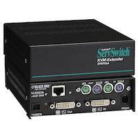 KVM Extender - DVI-I/VGA, PS/2, CATx