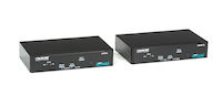 KVM Extender, DVI-D, USB-HID , RS232, Audio, Dual Access, Multi-Mode Fiber