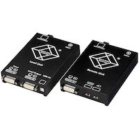 KVM Extender - DVI-D, USB, Dual-Access, Single-Mode Fiber