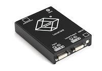 KVM Extender Transmitter - DVI-D, USB, Dual-Access, CATx