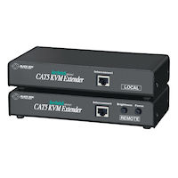 KVM Extender - (2) VGA, PS/2, Dual-Access, CATx