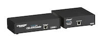 KVM Extender - VGA, PS/2, RS232, Audio, Single-Access, CATx