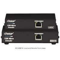 Micro KVM Extender - VGA, USB, Single-Access, CATx