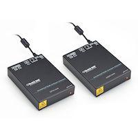 DKM Compact KVM Extender - DVI-I, VGA USB HID, Single-Access, CATx