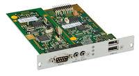 DKM FX Modular KVM Extender Receiver Expansion Card - Analog Audio, RS232, Embedded USB 2.0 (36Mbps)