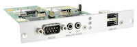 DKM FX Modular KVM Extender Receiver Expansion Card - Bidirectional Analog Audio, RS232, USB HID