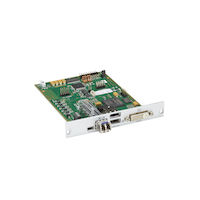 DKM FX Modular KVM Extender Receiver Interface Card - DVI-D, USB HID, Single-Mode Fiber