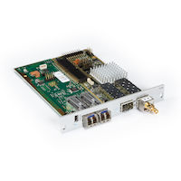 DKM FX Modular KVM Extender Receiver Interface Card - SDI, USB, (2) Single-Mode Fiber