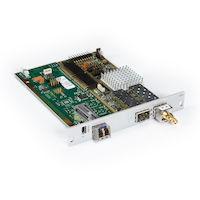 DKM FX Modular KVM Extender Receiver Interface Card - SDI, USB, Single-Mode Fiber