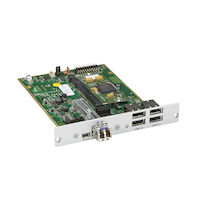 DKM FX HD Video and Peripheral Matrix Switch Receiver Modular Interface Card - Single-Mode Fiber, USB 2.0 Extension Board