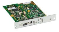DKM FX Modular KVM Extender Transmitter Expansion Card - Analog Audio, RS232, Embedded USB 2.0