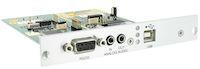 DKM FX Modular KVM Extender Transmitter Expansion Card - Bidirectional Analog Audio, RS232, USB HID