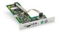 DKM FX Modular KVM Extender Transmitter Expansion Card - RS232 Bidirectional Analog Audio, PS/2