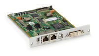 DKM FX Modular KVM Extender Transmitter Interface Card - (2) CATx, DVI-D, USB HID, Maritime Use