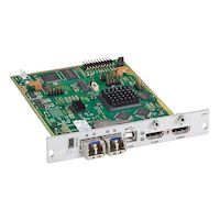 Modular KVM Extender, Transmitter Interface Card, HDMI w/Local HDMI Out, USB HID, 2X SM Fiber