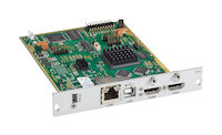 DKM FX Modular KVM Extender Transmitter Interface Card - HDMI with Local HDMI Out, USB HID, CATx