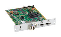 DKM FX Modular KVM Transmitter Interface Card - HDMI and USB HID over Fiber with Local HDMI Out
