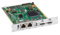 DKM FX Modular KVM Extender Transmitter Interface Card - HDMI, USB HID, 2X CATx