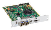 DKM FX Modular KVM Extender Transmitter Interface Card - HDMI, USB HID, 2X Single-Mode Fiber