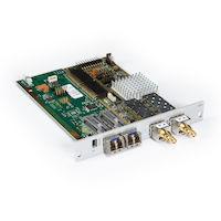 DKM FX Modular KVM Extender Transmitter Interface Card - SDI, USB, (2) Single-Mode Fiber
