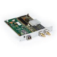 DKM FX Modular KVM Extender Transmitter Interface Card - SDI, USB, Single-Mode Fiber