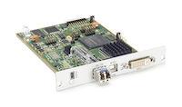DKM FX Modular KVM Extender Transmitter Interface Card - DVI-I, VGA, USB HID, Single-Mode Fiber