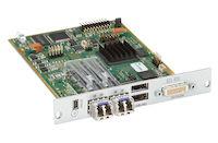 DKM FX Modular KVM Extender Receiver Interface Card - Dual-Link DVI-D, USB-HID, 2X Single-Mode Fiber