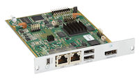 Modular KVM Extender, Receiver Interface Card, 4K30 DisplayPort 1.1, USB-HID, CATx