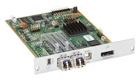 Modular KVM Extender, Transmitter Interface Card, 4K30 DisplayPort 1.1, USB-HID, SM Fiber