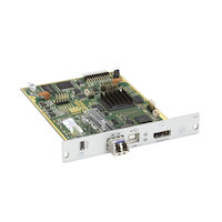 Modular KVM Extender, Transmitter Interface Card, 4K30 DisplayPort 1.1, USB-HID, 2X SM Fiber