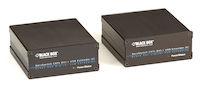 KVM Extender, DVI-D, USB-HID, Dual Access, Multi-Mode Fiber