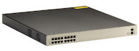 DKM Compact Switch - Redundant Power, CATx, 16-Port