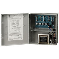UL Listed CCTV and Accessory Power Supply, 24-VAC Power Output 85VA 115VAC, 50/60Hz, 8.5
