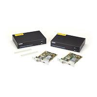 KVM Extender, DisplayPort 1.2 4K60, USB HID, SM Fiber